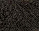 Fiber Content 50% Acrylic, 25% Merino Wool, 25% Alpaca, Brand Ice Yarns, Dark Brown, Yarn Thickness 2 Fine  Sport, Baby, fnt2-38100