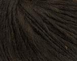 Fiber Content 35% Acrylic, 30% Wool, 20% Alpaca Superfine, 15% Viscose, Brand Ice Yarns, Dark Brown, Yarn Thickness 5 Bulky  Chunky, Craft, Rug, fnt2-38206