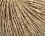 Fiber Content 60% Cotton, 5% Polyamide, 35% Alpaca Superfine, Brand ICE, Cream, Brown, Yarn Thickness 3 Light  DK, Light, Worsted, fnt2-39031
