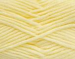 Fiber Content 100% Acrylic, Light Yellow, Brand Ice Yarns, Yarn Thickness 5 Bulky  Chunky, Craft, Rug, fnt2-39062