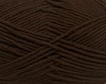 Fiber Content 100% Acrylic, Brand Ice Yarns, Dark Brown, Yarn Thickness 4 Medium  Worsted, Afghan, Aran, fnt2-39078