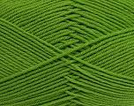 Fiber indhold 50% Polyamid, 50% Akryl, Brand Ice Yarns, Green, Yarn Thickness 2 Fine  Sport, Baby, fnt2-39377