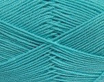 Fiber indhold 50% Polyamid, 50% Akryl, Light Aqua, Brand Ice Yarns, Yarn Thickness 2 Fine  Sport, Baby, fnt2-39379