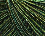Fiber Content 40% Royal Baby Alpaca, 40% Acrylic, 20% Polyamide, Yellow, Mint Green, Brand ICE, Black, fnt2-40115