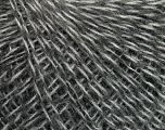 Fiber Content 35% Merino Wool, 25% Alpaca, 20% Viscose, 20% Acrylic, Brand ICE, Grey Shades, Yarn Thickness 2 Fine  Sport, Baby, fnt2-40317