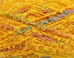 Fiber Content 40% Wool, 40% Acrylic, 10% Polyester, 10% Alpaca, Yellow, Rainbow, Brand Ice Yarns, Yarn Thickness 4 Medium  Worsted, Afghan, Aran, fnt2-40643