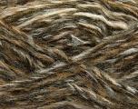 Fiber Content 43% Acrylic, 27% Polyamide, 15% Wool, 15% Mohair, White, Brand Ice Yarns, Grey, Brown Shades, Yarn Thickness 5 Bulky  Chunky, Craft, Rug, fnt2-41161