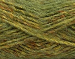 Fiber indhold 43% Akryl, 27% Polyamid, 15% Uld, 15% Mohair, Brand Ice Yarns, Green Shades, Yarn Thickness 5 Bulky  Chunky, Craft, Rug, fnt2-41164