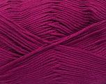 Fiber Content 50% Bamboo, 50% Cotton, Brand ICE, Fuchsia, Yarn Thickness 2 Fine  Sport, Baby, fnt2-42213