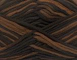 Fiber Content 100% Cotton, Brand Ice Yarns, Brown Shades, Yarn Thickness 3 Light  DK, Light, Worsted, fnt2-42275