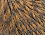 Fiber Content 50% Virgin Wool, 40% Alpaca, 10% Acrylic, Light Brown, Brand Ice Yarns, Grey, Yarn Thickness 5 Bulky  Chunky, Craft, Rug, fnt2-43722
