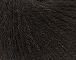 Fiber Content 50% Acrylic, 25% Alpaca, 25% Merino Wool, Brand Ice Yarns, Dark Brown, Yarn Thickness 2 Fine  Sport, Baby, fnt2-44018
