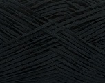 Fiber Content 50% Cotton, 50% Acrylic, Brand Ice Yarns, Black, Yarn Thickness 2 Fine  Sport, Baby, fnt2-49416
