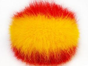 Diameter around 7cm (3&) Yellow, Red, Yarn Thickness Other, Brand ICE, acs-588