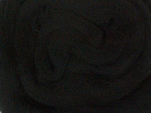 50gr-1.8m (1.76oz-1.97yards) 100% Wool felt Fiber Content 100% Wool, Yarn Thickness Other, Brand ICE, Black, acs-924