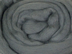 50gr-1.8m (1.76oz-1.97yards) 100% Wool felt Fiber Content 100% Wool, Yarn Thickness Other, Brand ICE, Grey, acs-926
