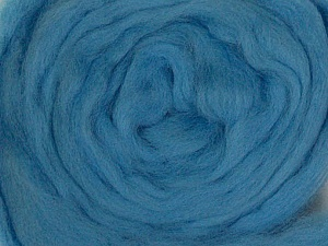 50gr-1.8m (1.76oz-1.97yards) 100% Wool felt Fiber Content 100% Wool, Yarn Thickness Other, Light Blue, Brand ICE, acs-949