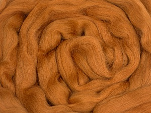 50gr-1.8m (1.76oz-1.97yards) 100% Wool felt Fiber Content 100% Wool, Brand ICE, Camel, acs-1106