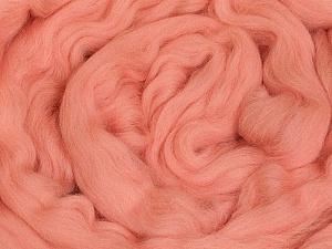 50gr-1.8m (1.76oz-1.97yards) 100% Wool felt Fiber Content 100% Wool, Pink, Brand ICE, acs-1108