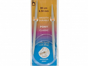 6.5 mm (US 10 1/2) Brand Pony, acs-1234