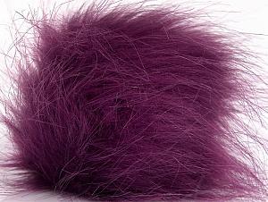 Diameter around 7cm (3&) Purple, Brand Ice Yarns, acs-1266