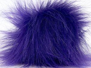 Diameter around 7cm (3&) Purple, Brand Ice Yarns, acs-1307