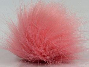 Diameter around 7cm (3&) Light Pink, Brand Ice Yarns, acs-1314