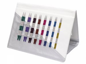 42140 KnitPro Item Code: 42140 Pack Contents: 8 Knitting Needle Tips: 3.5, 4.0, 4.5, 5.0, 5.5, 6.0, 7.0, 8.0 mm. 4 Cables to create needle length: 60 cm, 80 cm (2 nos.), 100 cm. 1 set of cable connectors. Note: KnitPro SmartStix have 2 cm markings on the cable and needles for quick mea Brand Ice Yarns, acs-1378