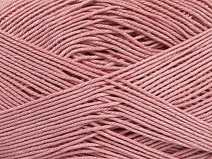 Ne: 8/4. Nm 14/4 Fiber Content 100% Mercerised Cotton, Rose Pink, Brand ICE, Yarn Thickness 2 Fine  Sport, Baby, fnt2-49609