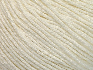 Fiber Content 60% Bamboo, 40% Cotton, White, Brand ICE, Yarn Thickness 3 Light  DK, Light, Worsted, fnt2-50535