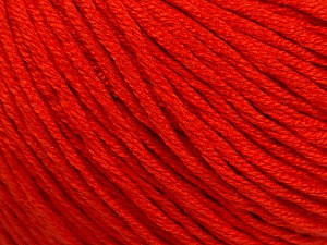 Fiber Content 60% Bamboo, 40% Cotton, Brand ICE, Dark Orange, Yarn Thickness 3 Light  DK, Light, Worsted, fnt2-50547
