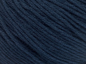 Fiber Content 60% Bamboo, 40% Cotton, Navy, Brand ICE, Yarn Thickness 3 Light  DK, Light, Worsted, fnt2-50549