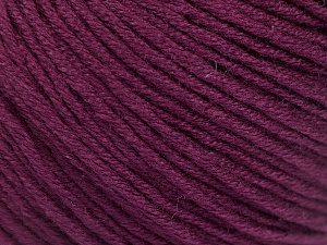 Fiber Content 60% Bamboo, 40% Cotton, Maroon, Brand ICE, Yarn Thickness 3 Light  DK, Light, Worsted, fnt2-50553