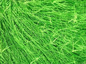 Fiber Content 100% Polyester, Light Green, Brand Ice Yarns, Yarn Thickness 5 Bulky Chunky, Craft, Rug, fnt2-50640