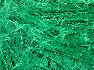 Fiber Content 100% Polyester, Brand Ice Yarns, Emerald Green, Yarn Thickness 5 Bulky Chunky, Craft, Rug, fnt2-50641