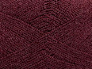Fiber Content 100% Cotton, Maroon, Brand ICE, Yarn Thickness 2 Fine  Sport, Baby, fnt2-50694