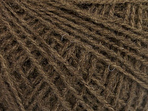 Fiber Content 70% Acrylic, 30% Wool, Brand ICE, Brown, Yarn Thickness 2 Fine  Sport, Baby, fnt2-50986