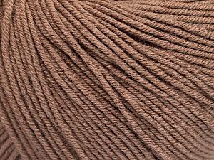 Fiber Content 60% Cotton, 40% Acrylic, Brand ICE, Camel, Yarn Thickness 2 Fine  Sport, Baby, fnt2-51205