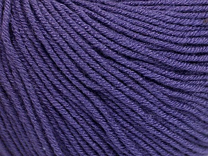 Fiber Content 60% Cotton, 40% Acrylic, Purple, Brand ICE, Yarn Thickness 2 Fine  Sport, Baby, fnt2-51212