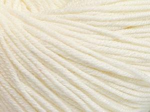 Fiber Content 60% Cotton, 40% Acrylic, Brand ICE, Ecru, Yarn Thickness 2 Fine  Sport, Baby, fnt2-51222