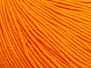 Fiber Content 60% Cotton, 40% Acrylic, Orange, Brand ICE, Yarn Thickness 2 Fine  Sport, Baby, fnt2-51230