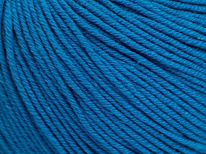 Fiber Content 60% Cotton, 40% Acrylic, Turquoise, Brand ICE, Yarn Thickness 2 Fine  Sport, Baby, fnt2-51238