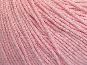 Fiber Content 60% Cotton, 40% Acrylic, Brand ICE, Baby Pink, Yarn Thickness 2 Fine  Sport, Baby, fnt2-51246
