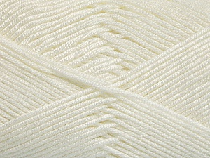 Fiber Content 50% Acrylic, 50% Bamboo, White, Brand ICE, Yarn Thickness 2 Fine  Sport, Baby, fnt2-51648