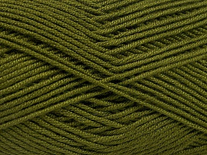 Fiber Content 50% Acrylic, 50% Bamboo, Brand ICE, Dark Green, Yarn Thickness 2 Fine  Sport, Baby, fnt2-51652
