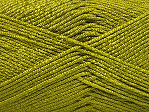 Fiber Content 50% Acrylic, 50% Bamboo, Olive Green, Brand ICE, Yarn Thickness 2 Fine  Sport, Baby, fnt2-51653