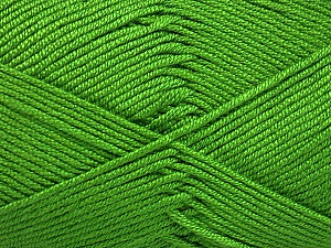 Fiber Content 50% Acrylic, 50% Bamboo, Brand ICE, Green, Yarn Thickness 2 Fine  Sport, Baby, fnt2-51654
