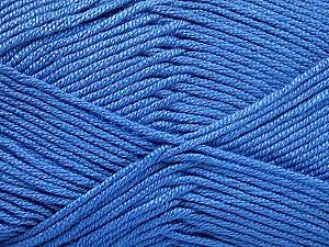 Fiber Content 50% Acrylic, 50% Bamboo, Indigo Blue, Brand ICE, Yarn Thickness 2 Fine  Sport, Baby, fnt2-51658