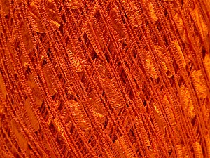 Trellis  Fiber Content 100% Polyester, Orange, Brand Ice Yarns, Yarn Thickness 5 Bulky  Chunky, Craft, Rug, fnt2-51884