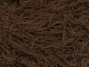 Fiber Content 50% Polyester, 50% Polyamide, Brand ICE, Dark Brown, Yarn Thickness 4 Medium  Worsted, Afghan, Aran, fnt2-51895
